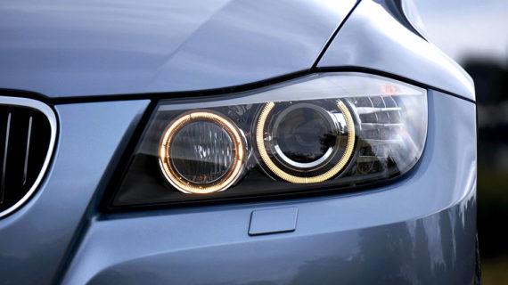 Gambar Rangkaian Lampu Kepala / Headlamp Mobil