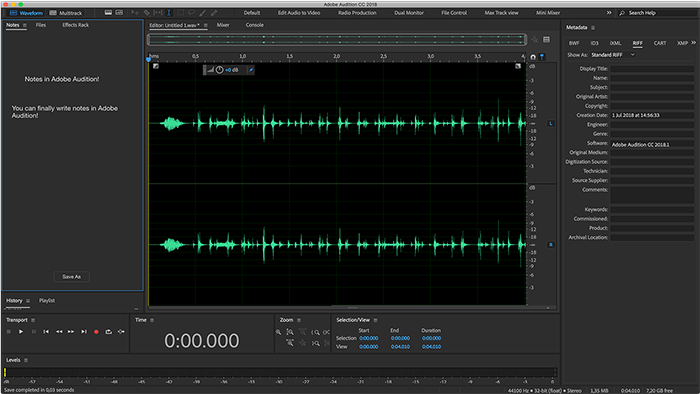 software edit audio adobe audition
