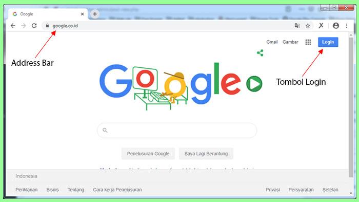 cara logout akun google