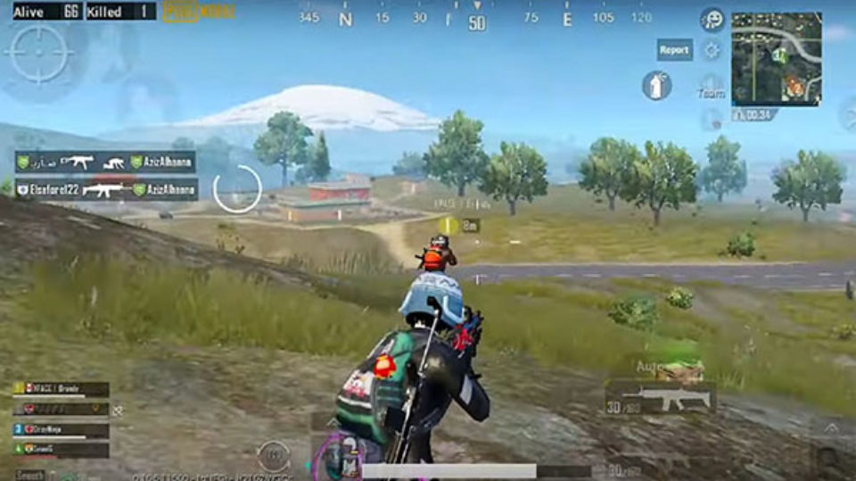 pubg fps game android